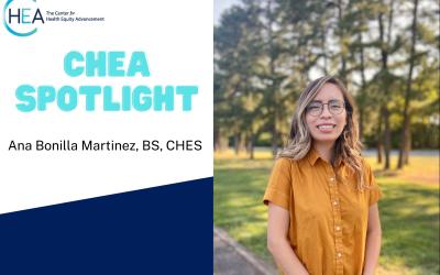 CHEA Spotlight: Ana Bonilla Martinez
